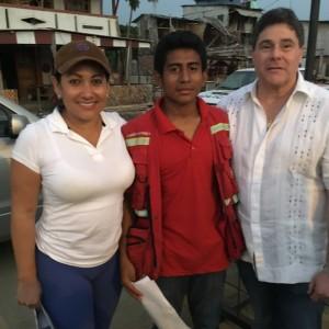 Historia del niño héroe, bombero voluntario en San Vicente, Manabi.