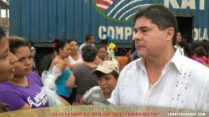 RUTA DE ROQUE, Niños en terremoto , Ecuador