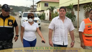RUTA DE ROQUE, CENTRO DE AYUDA INTERNACIONAL EN SAN VICENTE, MANABI: ECUADOR.
