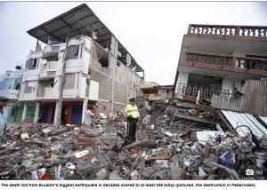 """LA RUTA DE ROQUE…Misión ECUADOR: Unidos Sanando las Heridas del Terremoto"""""""